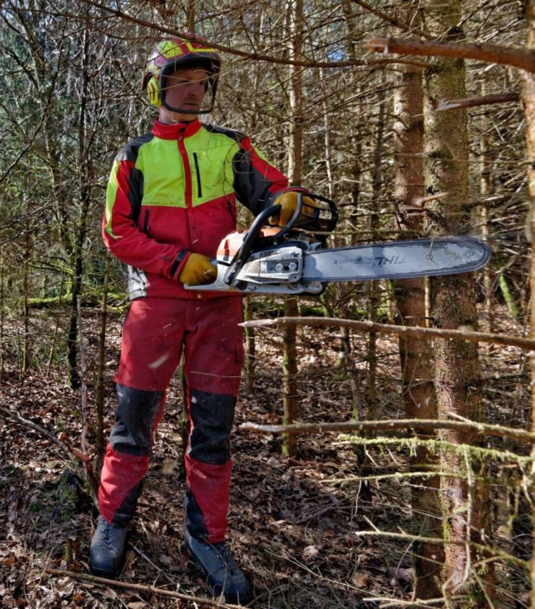 Waldarbeiter PSA
