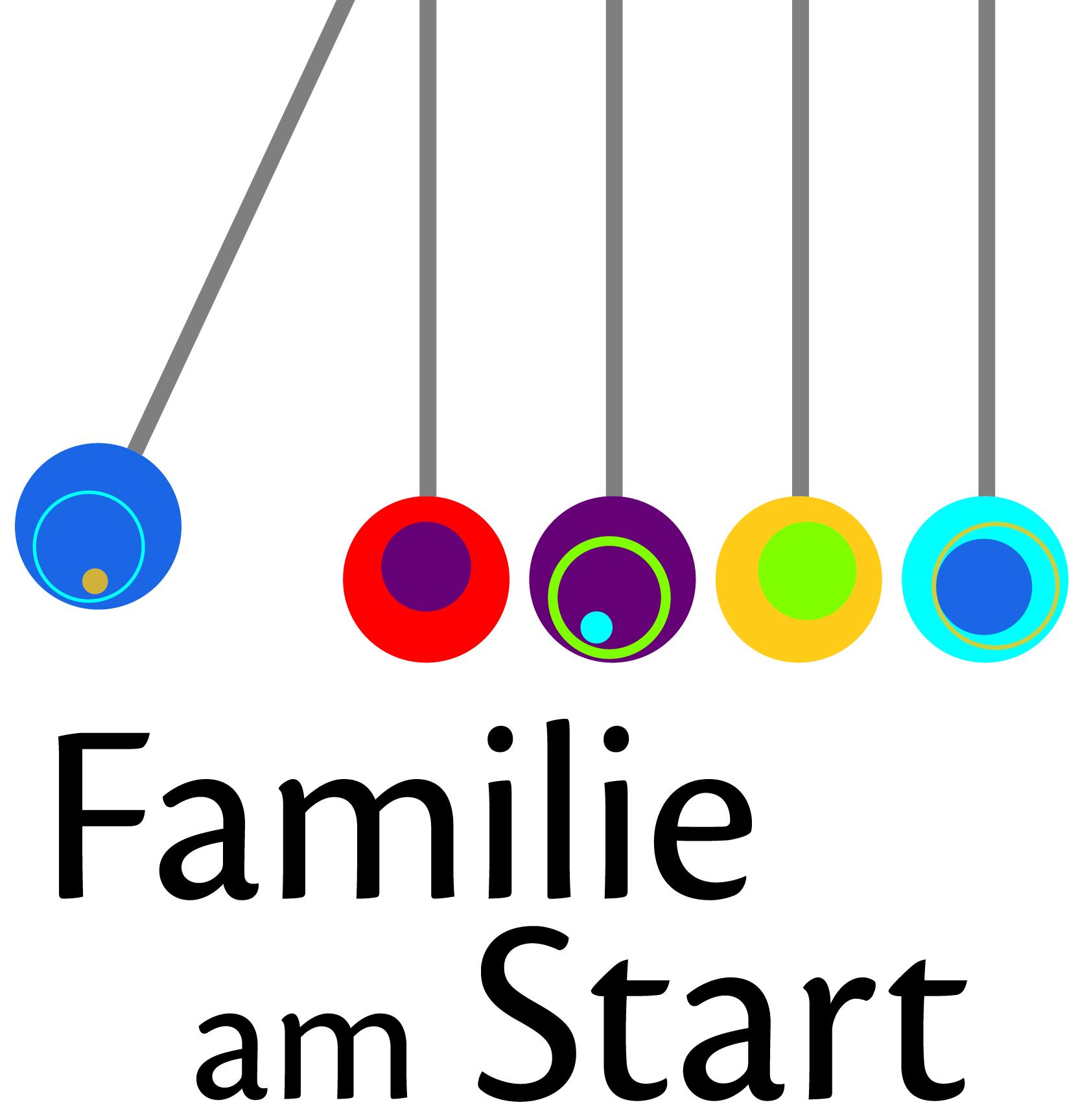 Logo Familie am Start
