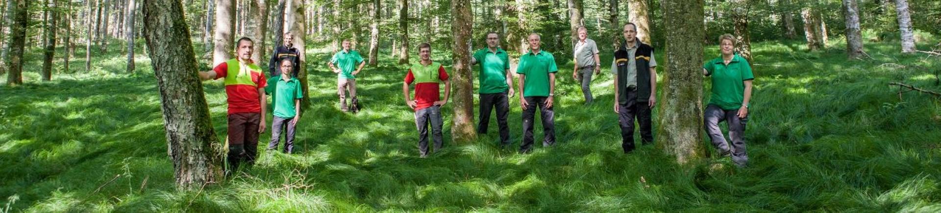 Mitarbeiter Fachbereich Forst