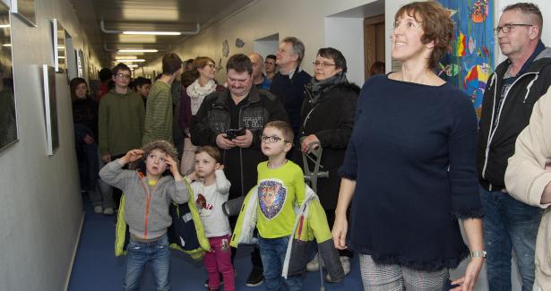 Neugestaltung der Flure im Landratsamt Sigmaringen, Ebene 4, Eröffnung am Montag, 04.02.2019 im Landratsamt Sitzungssaal Kapelle.