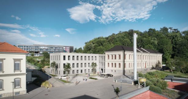 So soll das umgebaute St. Annahaus einmal aussehen. Urheber: Planquadrat Architekten