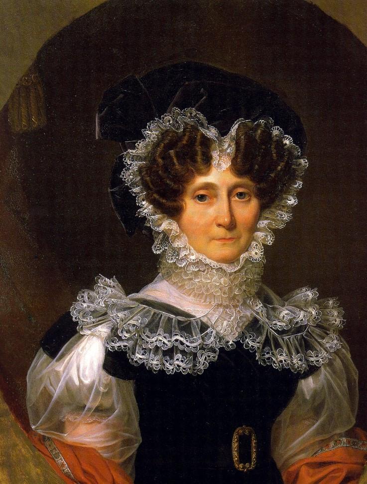 Abb. 15 Fürstin Amalie Zephyrine von Hohenzollern-Sigmaringen, Gemälde von Auguste François Laby, 1828 (Vorlage: Fürstlich Hohenzollernsche Sammlungen Sigmaringen)