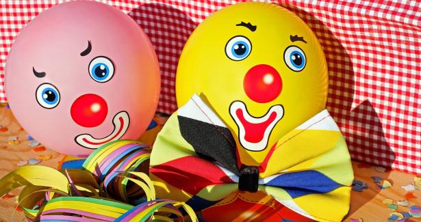 Fasnet-Clowns