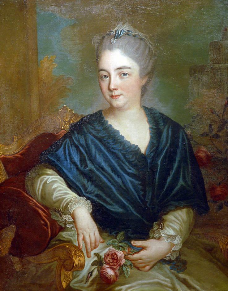 Amalie Zephyrine als Braut und als ältere Frau (Vorlage: Fürstlich Hohenzollernsche Sammlungen Schloss Sigmaringen)